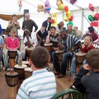 African drumming for birthday, stag and hen parties.