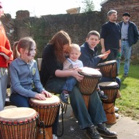 African drumming is suitable for all ages.