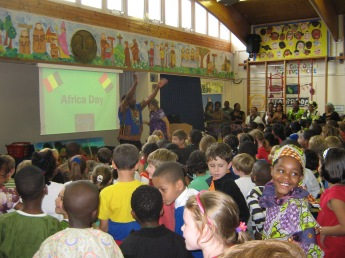 Closing assembly for Africa Day Experience